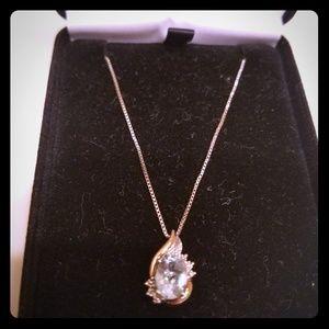 Kay Jewelers Teardrop Pendant Necklace